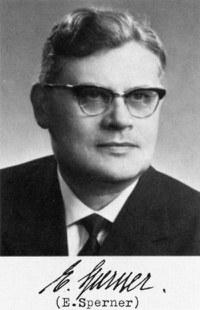 E. Sperner
