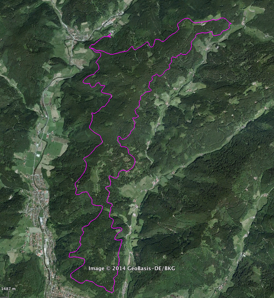 Track I Luftbild