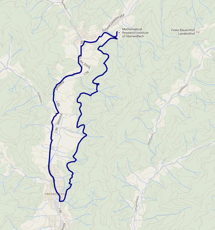 Track II Karte