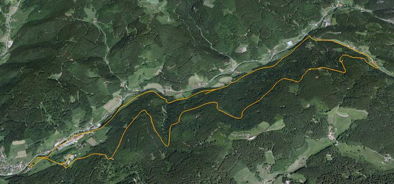 Track III Luftbild